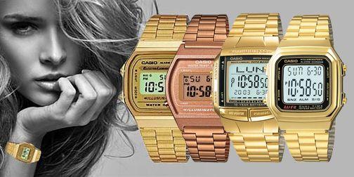 đồng hồ nữ mặt vuông điện tử