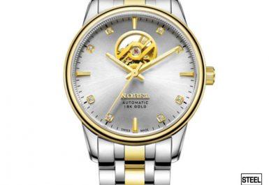 Đồng hồ mạ vàng nobel