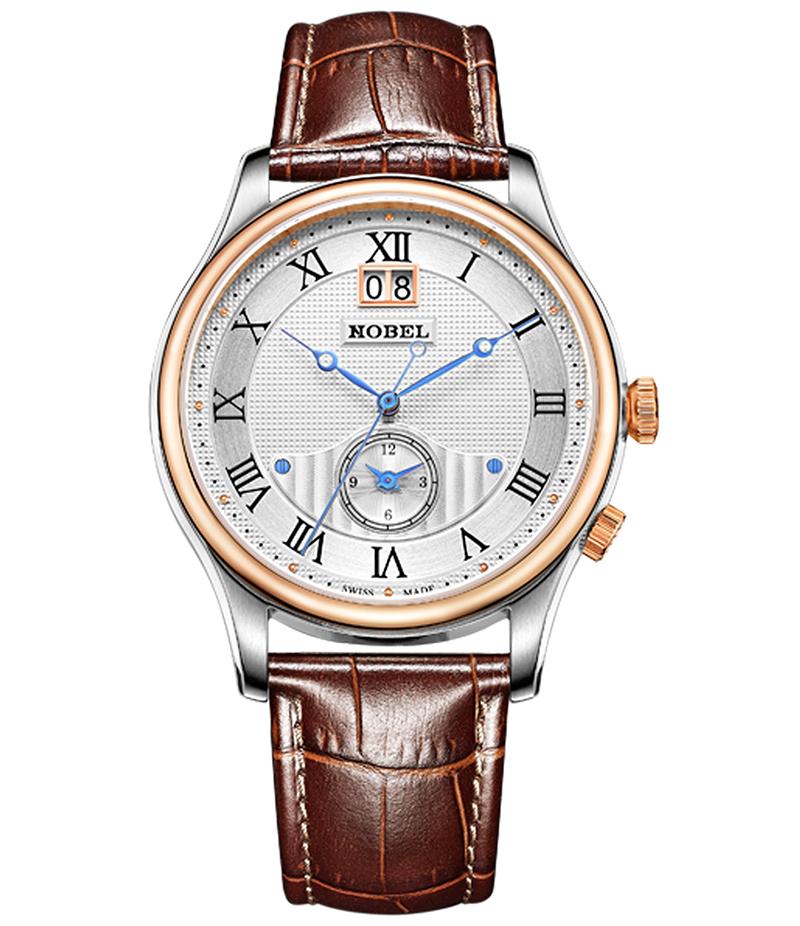 Đồng hồ dây da nobel