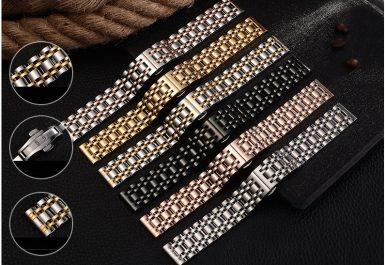 dây kim loại đồng hồ đẹp